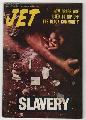 Jet Magazine-1972- How Drugs Are Used To Rip Off Blk Community - Black Americana