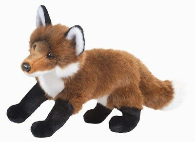 "DOUGLAS 16"" Red Fox Plush Stuffed Furry Animal Cuddle Toy 1828 FREE SHIPPING USA"