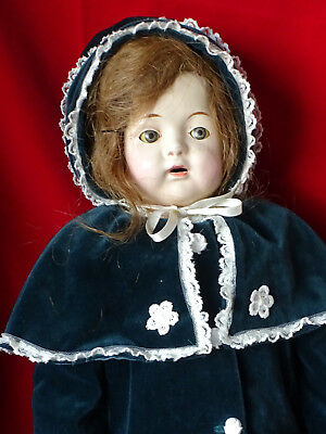 """Antique Effanbee Doll - 21"""" (early 1900 Mary Jane doll?)"""