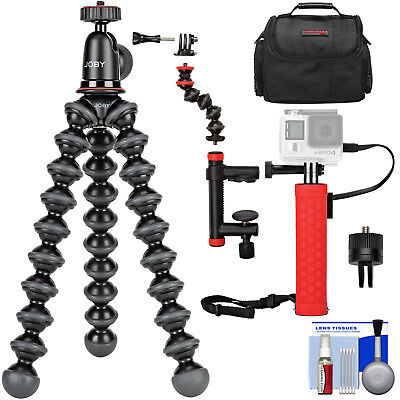 Joby GorillaPod 1K Flexible Tripod with Ball Head + Battery Hand Grip Kit