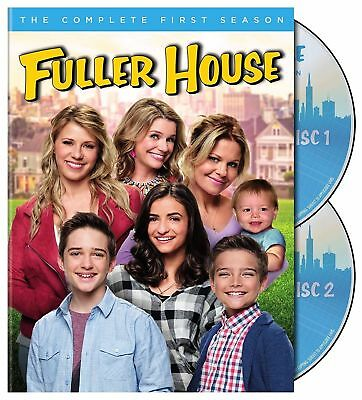 Fuller House: The Complete First Season (DVD, 2017, 3-Disc Set) NEW