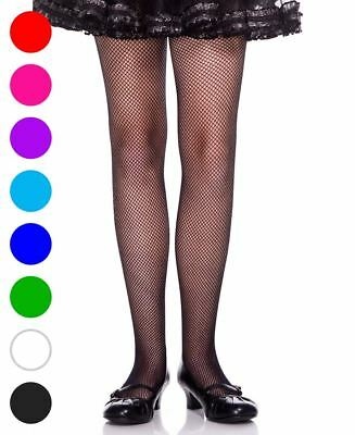 Girls Fishnet Pantyhose - Music Legs 290