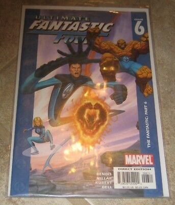 Ultimate Fantastic Four #6 VF/NM Brian Bendis Mark Millar Marvel Comics