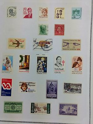 USA Mint MH Album Page Of Stamps #V5916