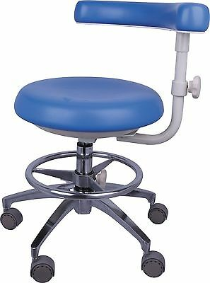 New Dental Assistant's/Medical Office Doctor's Stools Adjustable Mobile Chair PU