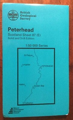 British Geological Survey - Peterhead. Solid And Drift Edition.