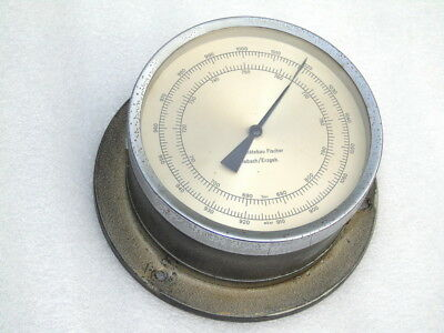 Vintage Fischer Ships Boat Yacht Marine Precision Weather Barometer