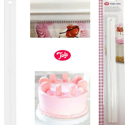 Cake Ruler Decorating Baking Icing Essential Tool Straight Wavy Ridges Patterns