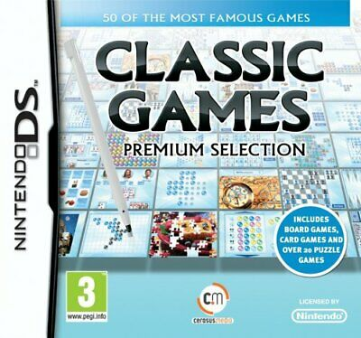 Classic Games (Nintendo DS) - Game  GAVG The Cheap Fast Free Post