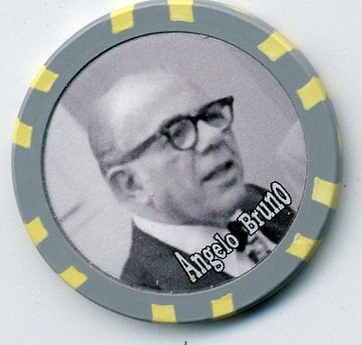 Angelo Bruno Gangster  Collector Chip