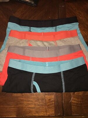 Boys 4pk Cat And Jack M 8/10 Assorted Color Boxer Briefs New