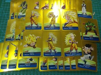 Dragon Ball Z Series ORO total 50 Piece Lamincards Gold Mirror Cards