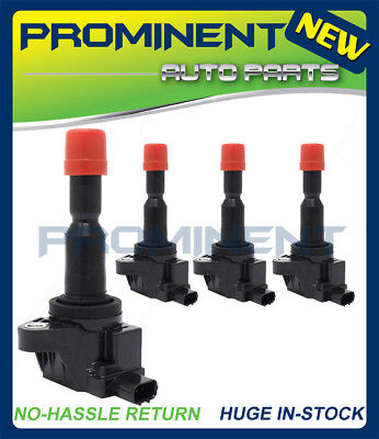UF581 NEW 4 SET OF IGNITION COIL FOR 2007 2008 Honda Fit 1.5L 30520PWC003 C1578