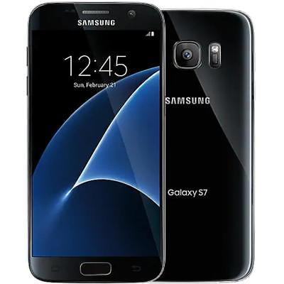 Samsung Galaxy S7 - Factory Unlocked; AT&T / T-Mobile / Global - 32GB - Black