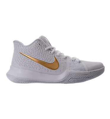 san francisco 61cf4 8c86e Nike Kyrie 3 Finals Irving III EP 852395-902 Championship Gold White size  9.5-