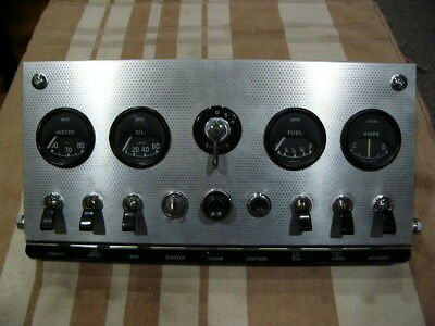 1961 3.8 Jaguar XKE E-Type Series 1 Dashboard Center Console, looks almost new