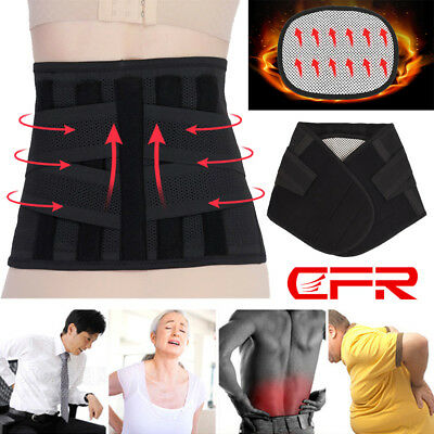 Self-Heating Lumber Waist Support Lower Back Brace Therapy Protection Belt Strap