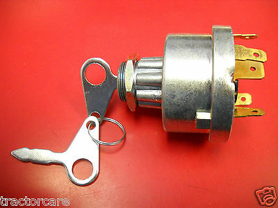 Ford Tractor Diesel Ignition Switch TW5 TW25 TW35 81871583 82849085