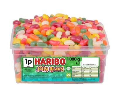 Haribo Jelly beans Bears jelly Gums Sweets Weight 50g 250g 500g 1kg Bags