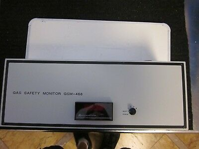 Semi Gas Systems GSM-468 Gas Safety Monitor New Surplus
