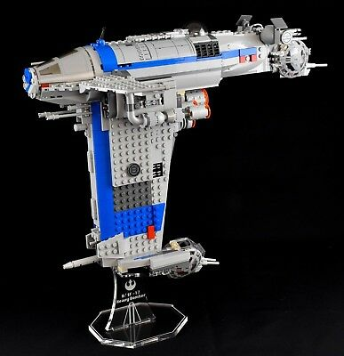 Star Wars Lego 75188 Resistance Bomber  - custom display stand only