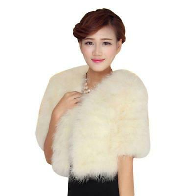 2016 Korean Style New Women Winter V Neck Soft Warm Faux Fur Coat Jacket Outwear
