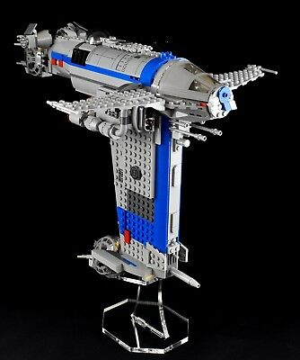 Star Wars Lego 75188 Resistance Bomber  - plain custom display stand only