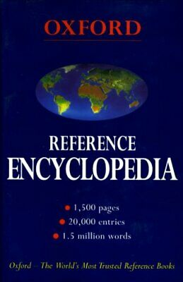 Oxford Reference Encyclopedia by n/a Hardback Book The Cheap Fast Free Post
