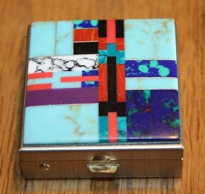 Inlay pill box