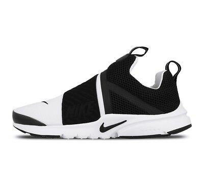New Nike Youth Presto Extreme Running GS Shoes (870020-100)  Black//White