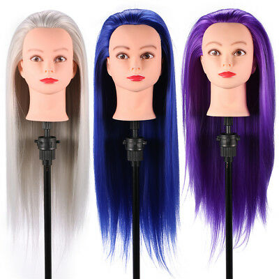 New Hairstyle Doll Head Cosmetology Mannequin Hair Style Beauty Hairdresser TP