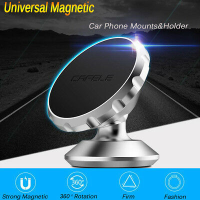Universal 360 Degree Rotating Holder Car Magnetic Mount Stand For Cell Phone