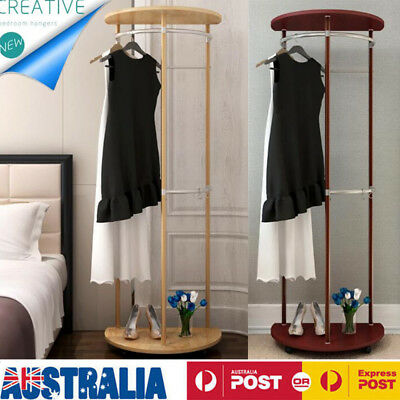 Coat Rack Stand Clothes Hangers Wooden Hat Jacket Bag Umbrella Hook Shoes Holder