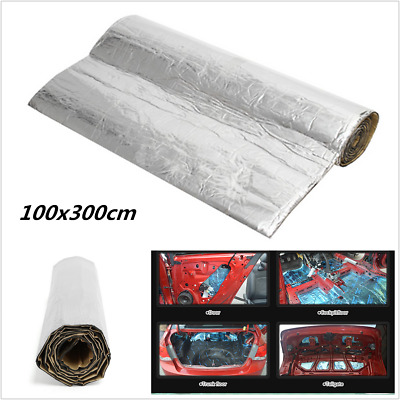 Sound Deadener Car Heat Shield Reflective Insulation Deadening Noise Proof Mat