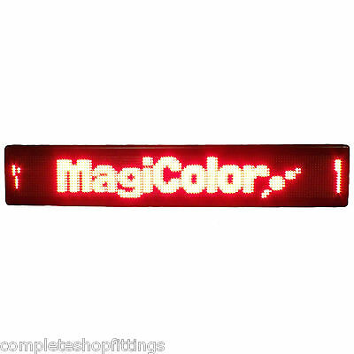 New Shop Running Moving Led Message Display Scrolling Shop Sign 1 Year Warranty
