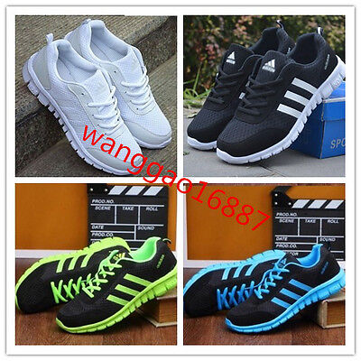 FASHION Men SHOES LADIES PUMPS TRAINERS LACE UP MESH SPORTS RUNNING CASUAL GYM