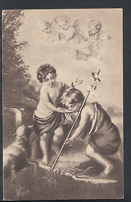 Art Postcard - Children - Angels and Cherubs  RS6125