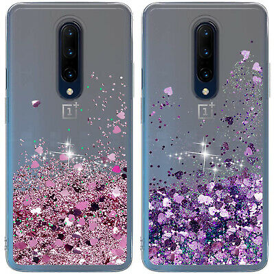For OnePlus 6T / 6 / 5T / 5 Case Glitter Liquid Moving Quicksand Clear TPU Cover