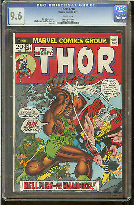 Thor 210 CGC 9.6 White Pages
