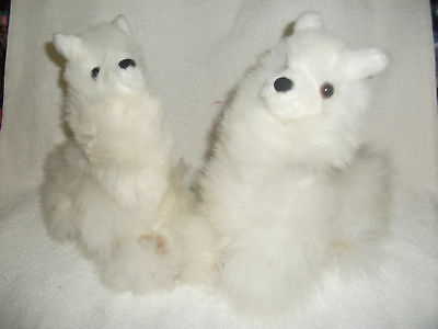 Brand New Made By Hand Peruvian Soft Plush Cushing Alpaca Llama 9451
