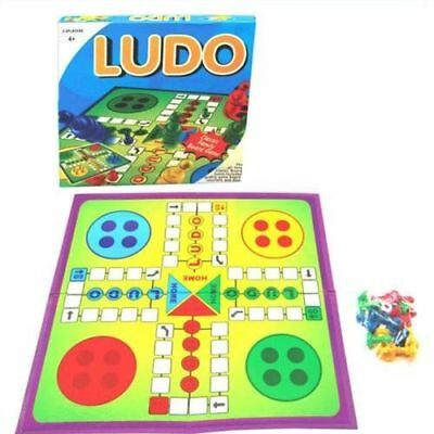 Ludo Traditional Board Game includes board, counters and dice