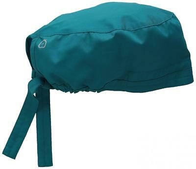 Elastic Sweat Band Men's Wonderwork Unisex Scrub Cap Hat Teal Surgical One Size