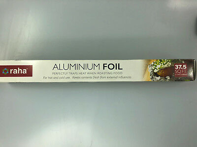 KITCHEN CATERING ALUMINIUM FOIL FOOD BAKING - choose your size from list!