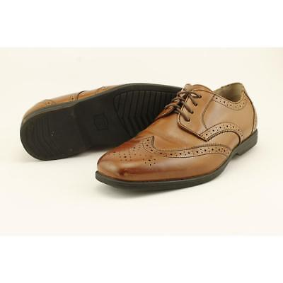 Florsheim Reveal Wing Jr. Youth US 7 Brown Oxford Pre Owned Blemish  1441
