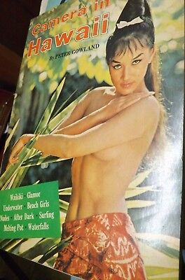 1963 Vintage Camera in Hawaii Gowland Nude Female Art Photography Photo Book