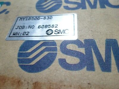 SMC -- RODLESS GUIDED CYLINDER LARGE 50mm Bore -- 830mm Stroke MY1B50G-830