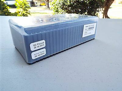Assay Storage Box for PAMP Gold Silver Platinum Bars (No Bars) Holds 1 g to 1 oz
