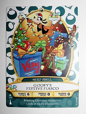 Mickey's Very Merry Christmas Party Sorcerers Of The Magic Kingdom Card 2016