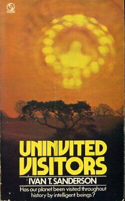 Uninvited Visitors by Sanderson, Ivan T. Paperback Book The Cheap Fast Free Post
