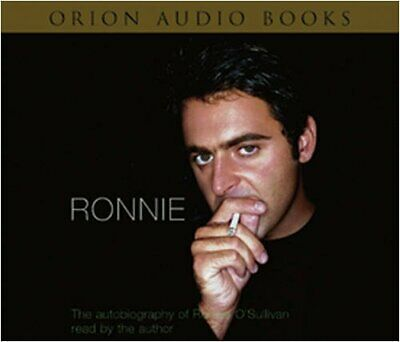 Ronnie: The Autobiography of Ronnie O'Sullivan by O'Sullivan, Ronnie CD-Audio
